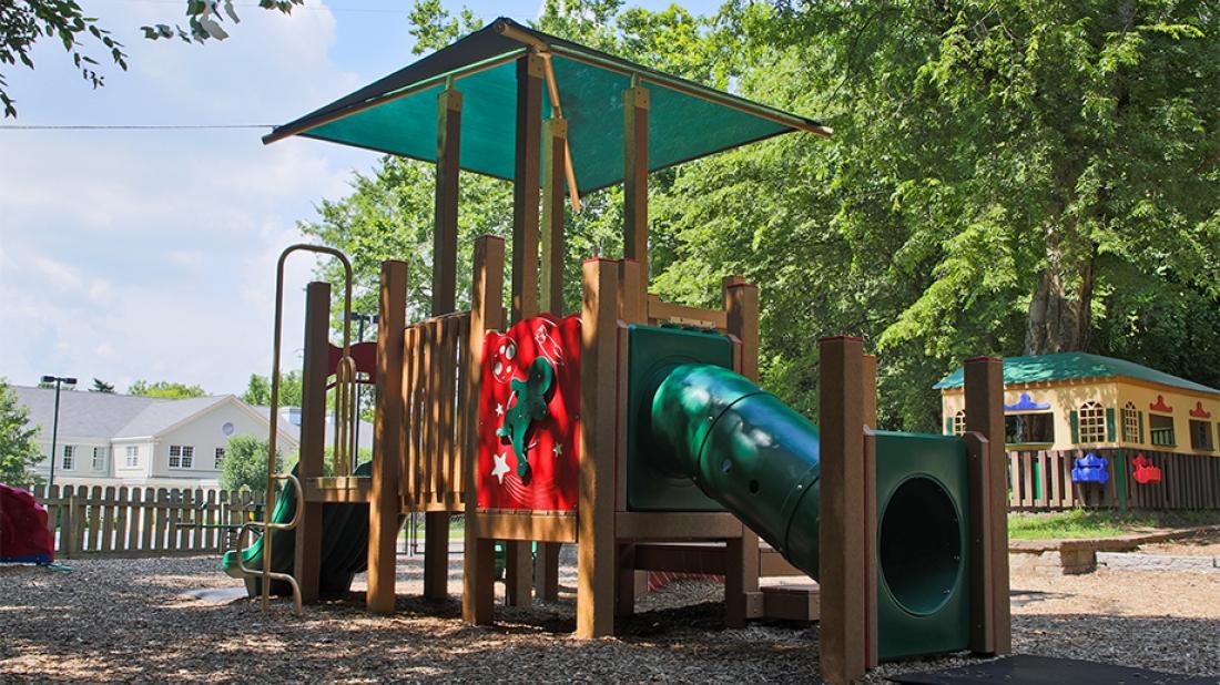 St Georges Episcopal Church Playground
