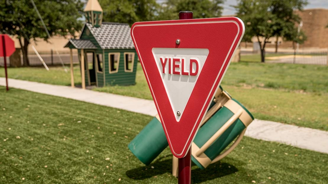 Safety Sign for Playground