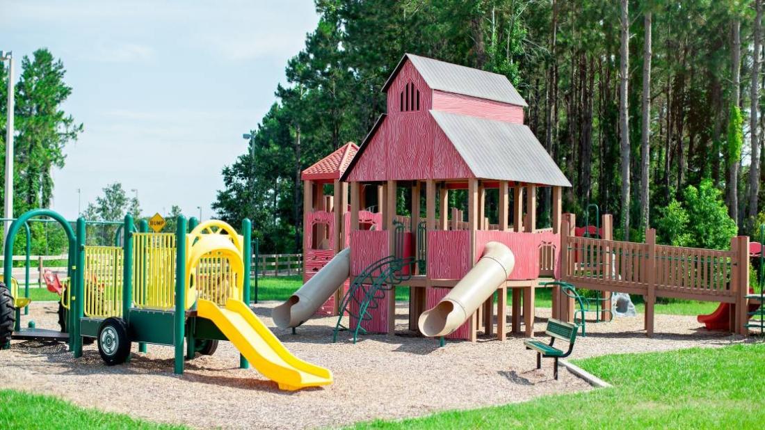 barn theme playground