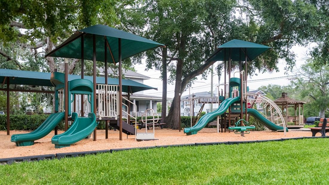 Riverside Ave Church Playground