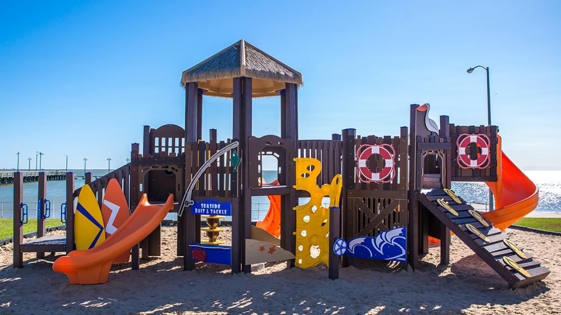 Playground at the Beach