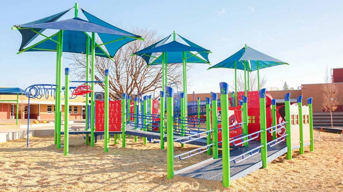 playground ramp